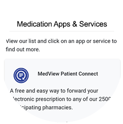 Medication apps & Services